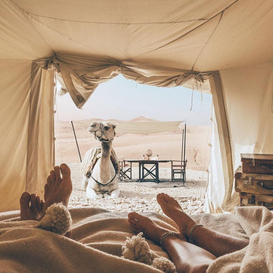 Luxury Camping: Scarabeo Camp, Morocco