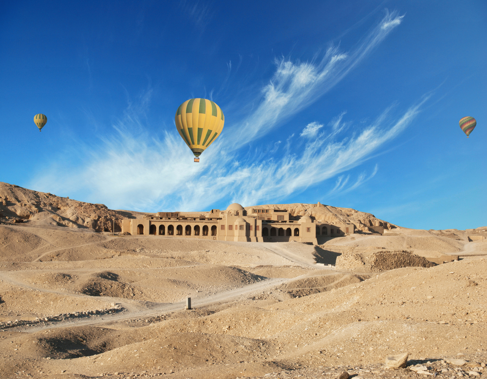 Hot air balloon rides Egypt