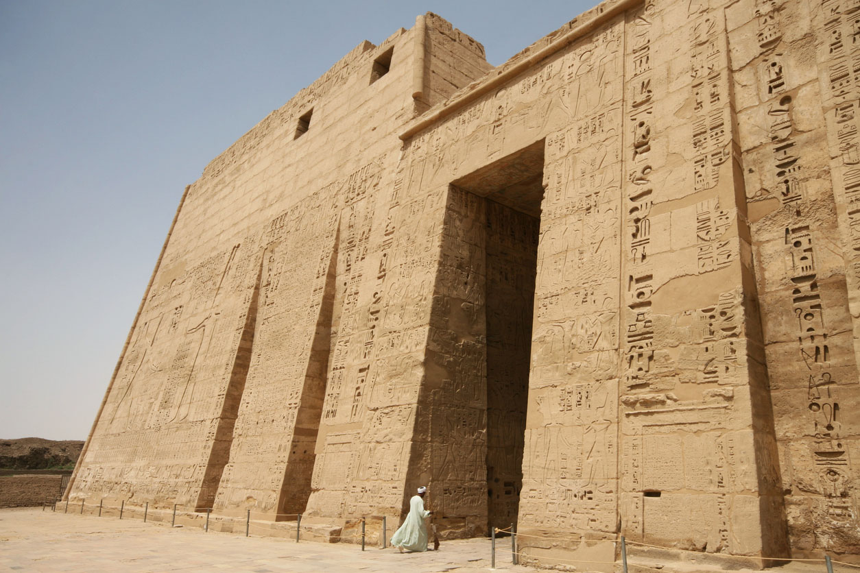 Luxor, Egypt: Mortuary Temple