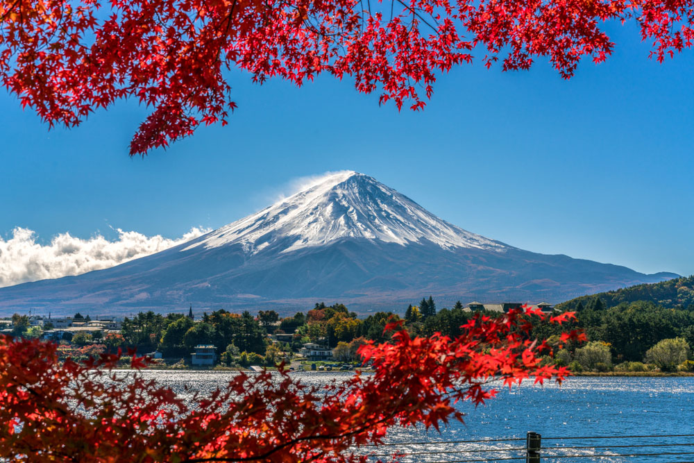 Mountain Peaks: Mt Fuji, Japan