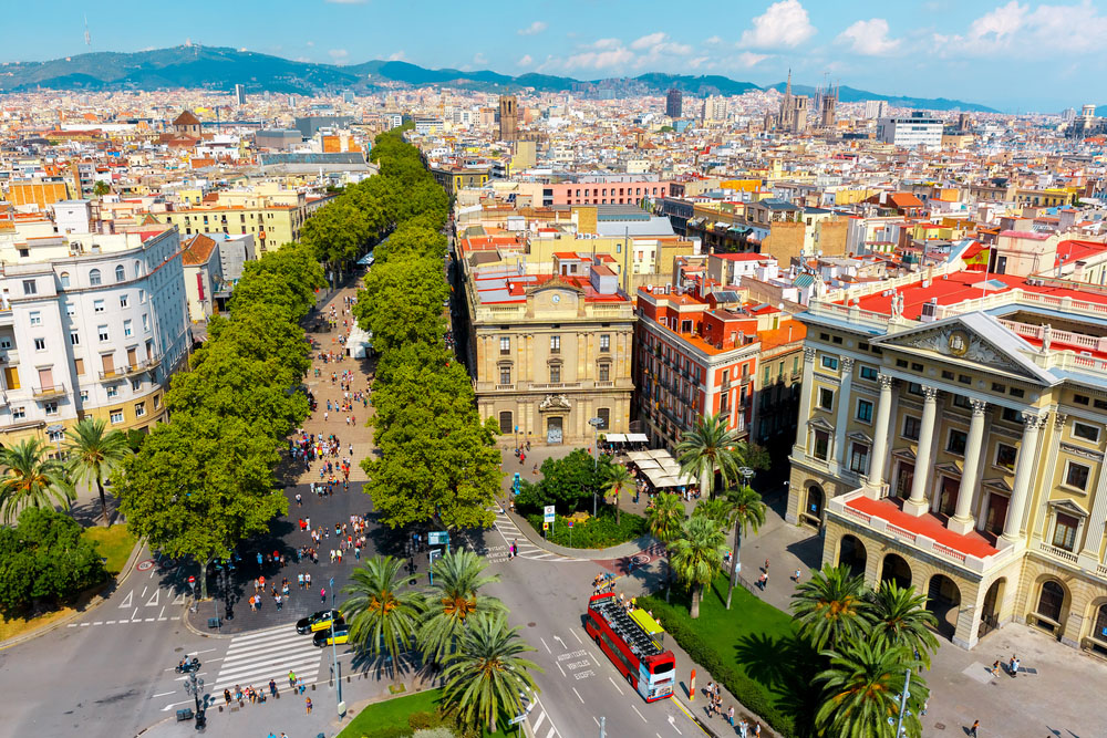 Places in Barcelona