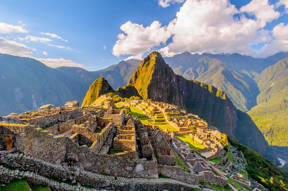 Mountain Peaks: HHuayna Picchu, Peru.