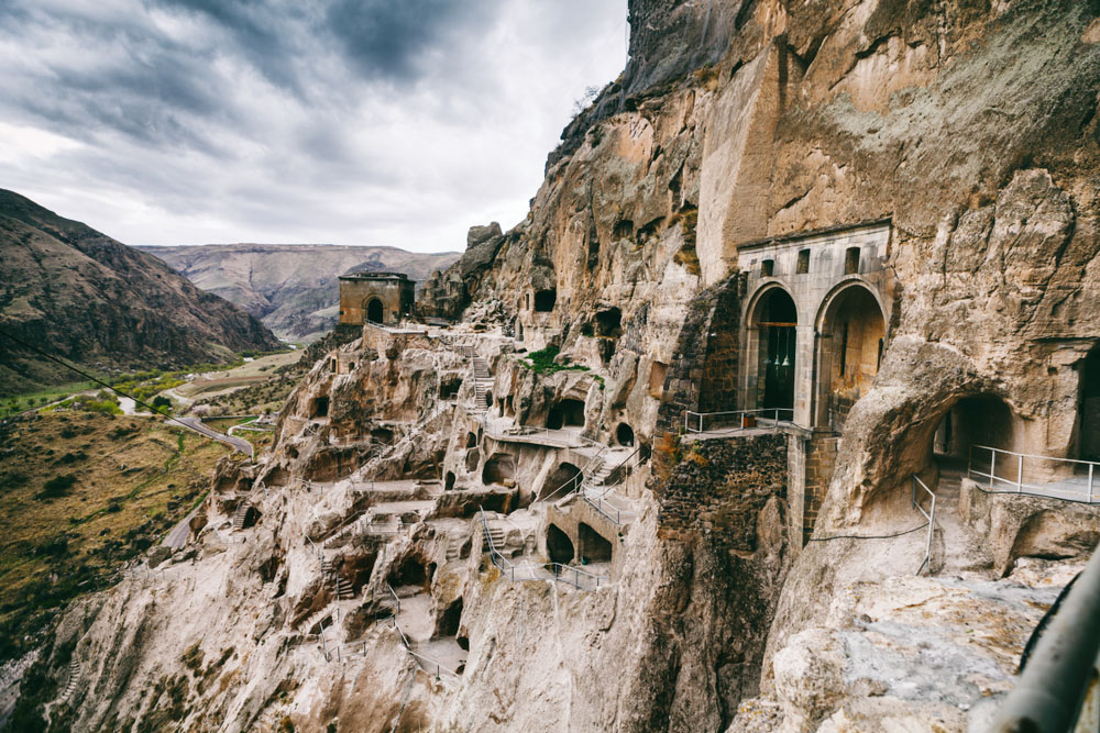 Cave city: Vardzia, Georgia.