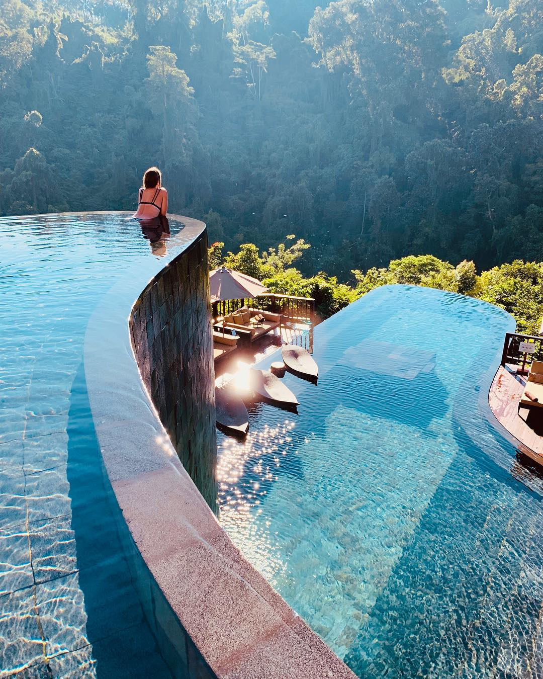 Best hotel pools: Hanging Gardens Bali, Bali.