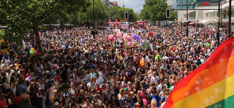 Berlin pride parade 2021